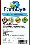 Ships The Same Day! EarthDye Chemical Free Hair and Beard Dye (1 Pack Mahogany)