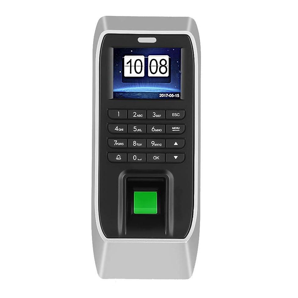 増強する動揺させる自発的出席マシン 指紋出席機 指紋記録装置 2.4インチ TFT LCD アクセス管理 指紋識別+パスワード認証 出勤レコーダー 出席機 従業員チェック インレコーダー アクセスコントロールシステム