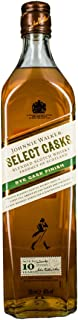 Johnnie Walker 10 Ans Select Casks Rye Cask Finish Blend Scotch Whisky 700 ml