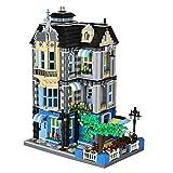 Cafe mit Biergarten Bausteine Haus, Modular Building, 2313 Klemmbausteine