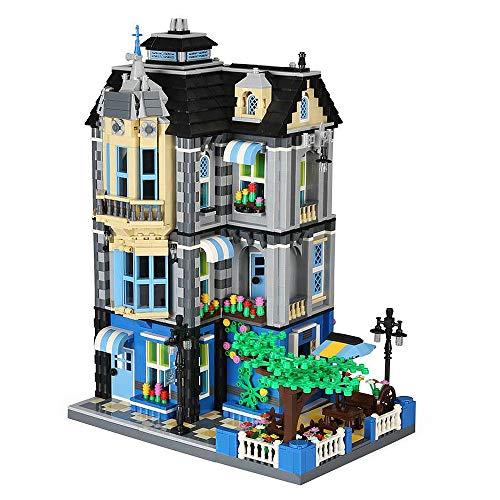 Cafe con cervecería de bloques de construcción casa, construcción modular 2313 bloques de construcción