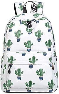 Designer Printed Cactus Backpack Travel Students Printing Backpack Fresh Rucksack Back Pack School Bags Outdoor Sport Teenager Causal Laptop Bag Teenager Girls & Boys Schoolbags