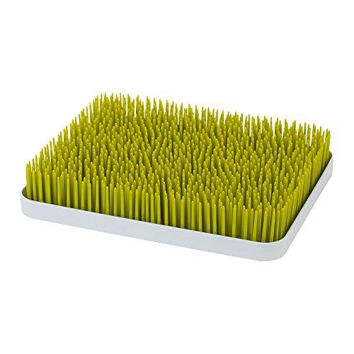Boon Lawn – Bandeja de Secado para Biberones con Diseño de Césped, Tamaño Grande, Color verde