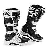 Protección Anti Slip Tobillo Botas de Moto armados - Hombre