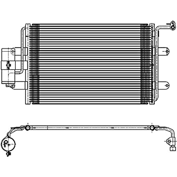 NRF 350405 Kondensator Klimak/ühler Klimaanlage Kondensator Klimaanlage Kondensator