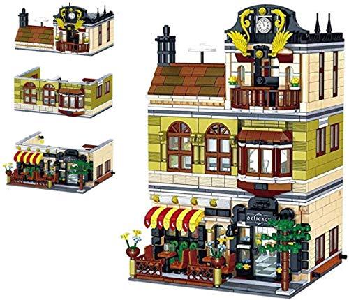 hsj Model Set, Mini Kids Building Blocks, Kinder Assembly Building Blocks, 3D DIY Puzzle Spielen, for Erwachsene und Kinder Exquisite Verarbeitung