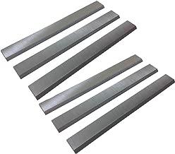 6-1/8-Inch Jointer Knives for Delta 37-190 37-658, Craftsman, JET, Powermatic, Rockwel, Ridgid jointers 2 Set(6Pcs)