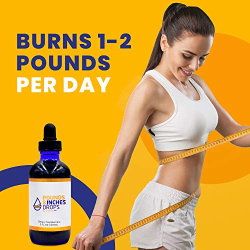 Pounds and Inches Drops for Weight Loss, 2 Oz. Bottle