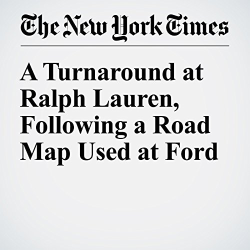 A Turnaround at Ralph Lauren, Following a Road Map Used at Ford audiobook cover art