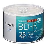ソニー ビデオ用ブルーレイディスク 詰め替えモデル 50BNR1VJPB4 (BD-R 1層:4倍速 50枚バルク)