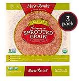 Maria & Ricardo's Organic Sprouted Tortillas. (3 Pack) USDA Certified Organic, Non GMO PV, Vegan, Kosher. 6 Tortillas per Pack