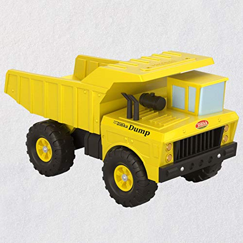 Hallmark Keepsake Christmas Ornament 2020, Hasbro Tonka Mighty Dump Truck