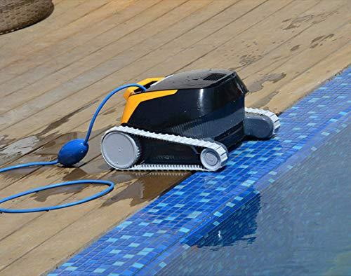 Dolphin E20 - Elektrischer Reinigungsroboter, Poolroboter mit PVC Bürste, Pool Roboter für alle Poolformen - 5