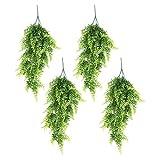 4er-Pack Künstlicher Efeu, Hängende Girlande, Ca. 80cm Lang, Künstliche/Unechte Pflanzen, für Den Innen-/Außenbereich, Hängekorb, Haus- oder Gartendekoration, Hanging Plants Style