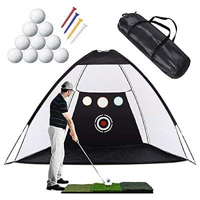 Sunix Golf-Übungsnetz Golf-Schlagnetze Chipping-Zieltaschen