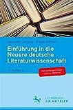 Einführung in die Neuere deutsche Literaturwissenschaft - Benedikt Jeßing