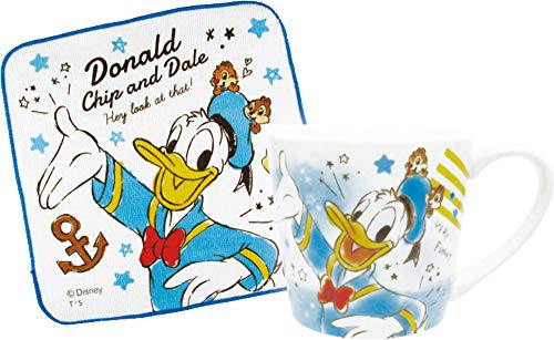 ティーズファクトリー マグ&タオルセット ドナルドダック・チップ&デール ディズニー ファンタイム DN-5524340DC