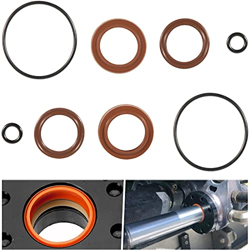 Steering Cylinder Replacement Seal Kit HC5345 FSM051 Compatible with HC5340 HC5341 C5348 HC5358 HC5365 HC5375 HC6755 etc.