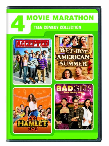 4-Movie Marathon: Teen Comedy Collection (Accepted / Wet Hot American Summer / Hamlet 2 / Bad Girls From Valley High)