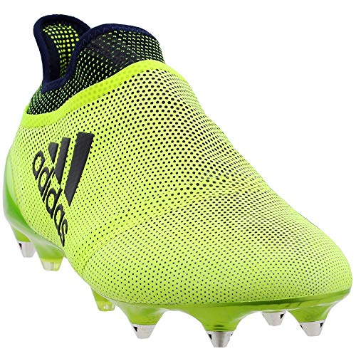 adidas Mens X 17 Purespeed Soft Ground Soccer Athletic Cleats
