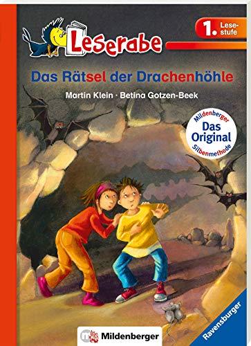 Das Rätsel der Drachenhöhle - Leserabe 1. Klasse - Erstlesebuch für Kinder ab 6 Jahren (Leserabe mit Mildenberger...