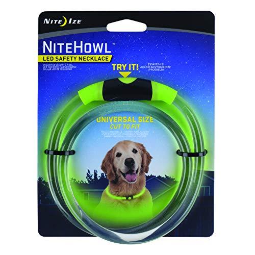 Nite Ize halsband voor dieren LED Groen