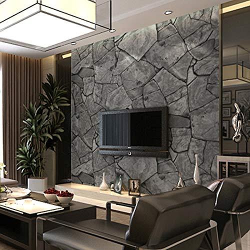 KYKDY Wallpapers Papel autoadhesivo de PVC Rollos de bricolaje Wallpapers de vinilo impermeables de vinilo para muebles de cocina gris oscuro 002,60cmX9m