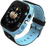 Kinder Smartwatch Touchscreen Smart Watch Phone mit LBS SOS Spiel Voice Chat Taschenlampe Wecker...