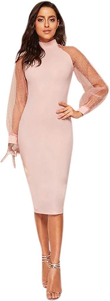 YOMXL womens Pencil Dress
