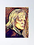 MCTEL K Like Kinski Poster 11.7x16.5 Inch Frame Board for