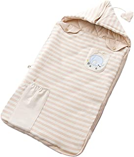 Zhhlaixing Baby 12-18 Months Quilted Sleep Sack Cotton Wearable Blanket Toddler - Kids Slumber Bag Anti-Shock Hoody Tiled Zipper Elephant Embroidery
