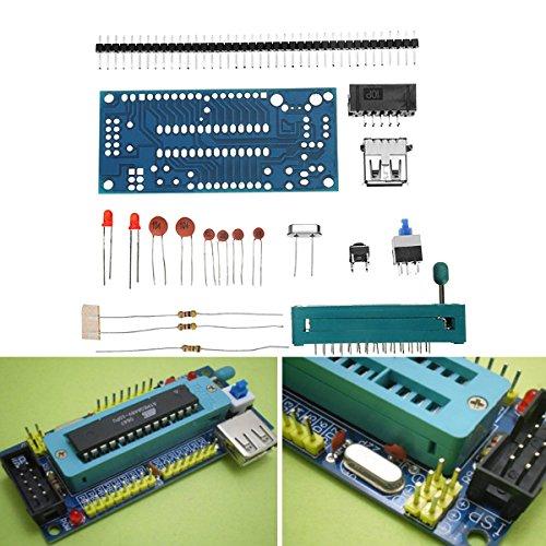 LaDicha DIY ATmega8 mínimo de la Junta de Sistema ATmega48 ATMEGA88 Sistema mínimo de la Tarjeta AVR Kit
