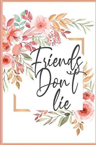 Friends don't lie: Stranger things notebook: stranger things