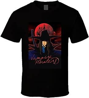 Vampire Hunter D Anime TV Show Poster Cool Fan T Shirt