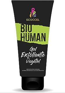 Gel Exfoliante facial y corporal con ingredientes biológicos hidratantes. Peeling natural que estimula la renovación celular para una piel suave, luminosa y sin manchas. Excelente antiacné. 200 ml