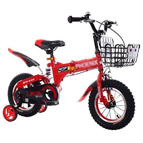 WJTMY Bicicletas de los niños, los niños for Bicicleta con Ruedas de Entrenamiento, Bicicletas Beach Niños, múltiples Colores, Bicicletas de montaña Bicicletas Plegables for niños