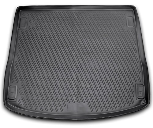 AD Tuning TMP15007 Passform Kofferraumwanne, Anti-Rutsch Oberfläche, schwarz