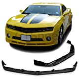 GT-Speed - ST Style PU Front Bumper Lip - Compatible With 2010-2013 Chevy Camaro LS/LT/V6 Bumper Only (Not Compatible With V8 Bumper)