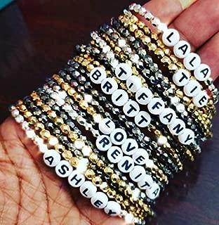 Best beaded name bracelets Reviews