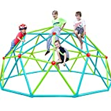 Zupapa 2021 Upgraded Dome Climber with 2-Year Warranty, Decagonal Geo Jungle Gym Supporting 735LBS with Much Easier Assembly, a Lot of Fun for Kids (Green)