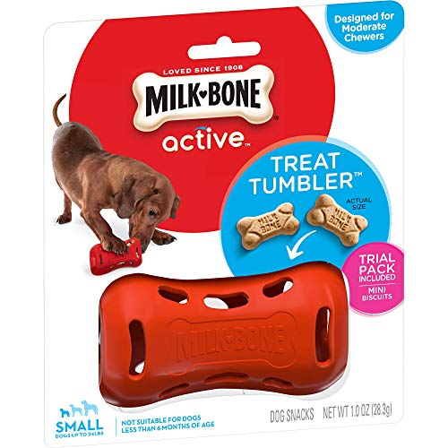 Milk-Bone Active Treat Tumbler, Interactive Dog...