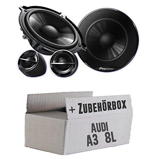Pioneer TS-G133Ci - 13cm Lautsprechersystem - Einbauset für Audi A3 8L - JUST SOUND best choice for caraudio