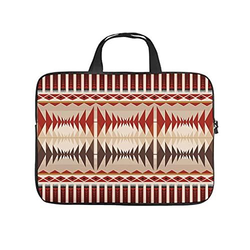 Native American Geometrie - Funda para portátil, resistente al desgaste, diseño de geometría americana