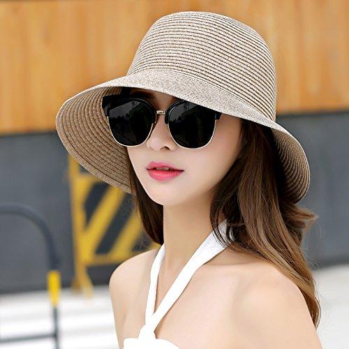 LLZTYM Suncap/vrouwelijk/opvouwbaar/zomer/zon/strandcap/hoed/kop/geschenk/hoed