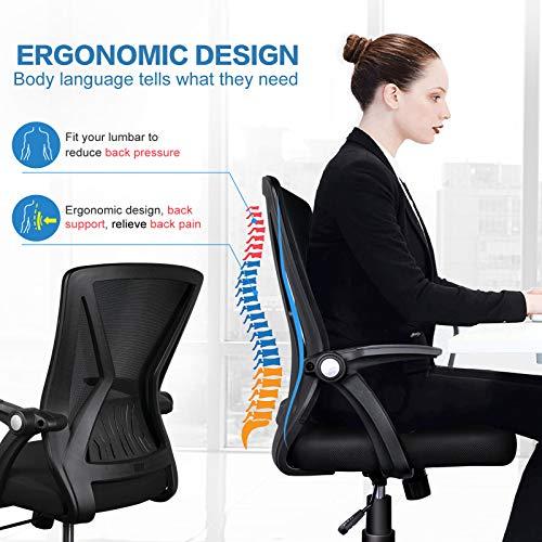 KOLLIEE Mid Back Mesh Office Chair