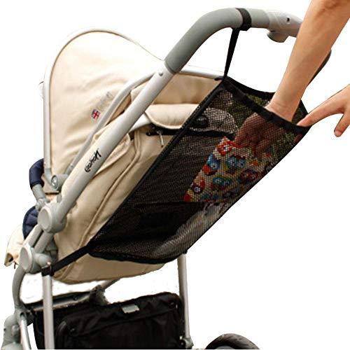 dizi248 pram storage bag, pram buggy organiser bags, stroller stroller hanging storage net storage bag