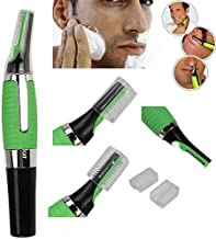 Basic Deal All-In-One Personal Touch Ear/Nose/Neck/Eyebrow Hair Trimmer (Green)