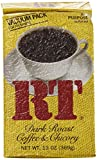 CDM Coffee & Chicory Dark Roast Ground Coffee 13 Ounce Bag (Pack of 4)