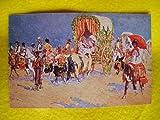 Antigua Postal - Old Postcard : A la Feria de Sevilla. Diseño M.Bertuchi