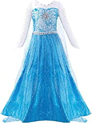 Blue Dress Costume for Comfort in Mind Elegant Style